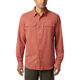 Columbia Irico Chemise manches longues Homme, carnelian red